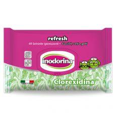 Ubrousky Inodorina Chlorhexidine 40 ks