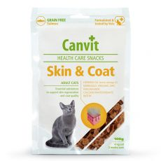 Canvit Health Care Cat Skin & Coat Snack 100 g