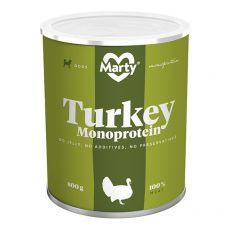 Konzerva MARTY Turkey Monoprotein 800 g