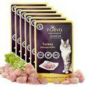 Kapsička NUEVO CAT Sensitive Turkey Monoprotein 6 x 85 g, 5 + 1 GRATIS