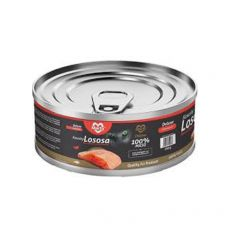 Konzerva pro kočky MARTY Deluxe Bits of Salmon 100 g