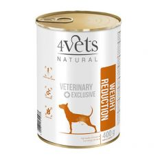 4Vets Natural Veterinary Exclusive WEIGHT REDUCTION 400 g