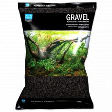 Substrát Aqua Exellent černý 2–4 mm, 3 kg
