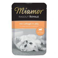 MIAMOR Ragout Royal Kitten drůbež v želé 100 g