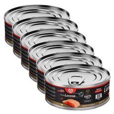 Konzerva pro kočky MARTY Deluxe Bits of Salmon 6 x 100 g