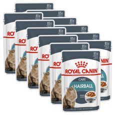 Royal Canin HAIRBALL CARE - kapsička 12 x 85 g