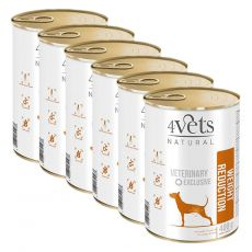4Vets Natural Veterinary Exclusive WEIGHT REDUCTION 6 x 400 g