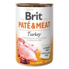 Konzerva Brit Paté & Meat Turkey 400 g