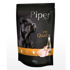 Kapsička Piper Adult s křepelkou 500 g