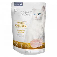 Kapsička Piper Cat Adult s kuřecím masem 100 g