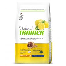 TRAINER Natural Small & Toy Adult sušená šunka 7 kg