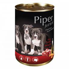 Konzerva Piper Junior hovězí srdce a mrkev 400 g