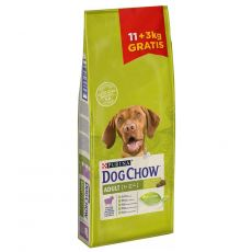 PURINA DOG CHOW ADULT Lamb 11 + 3 kg GRATIS