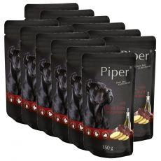 Kapsička Piper Adult s hovězími játry a bramborami 12 x 150 g