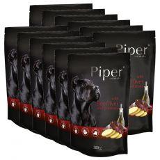 Kapsička Piper Adult s hovězími játry a bramborami 12 x 500 g