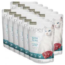 Kapsička Piper Cat Sterilised s tuňákem 12 x 100 g