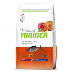Trainer Natural Medium Adult ryba a rýže 3 kg