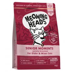 Meowing Heads Senior Moments 450 g