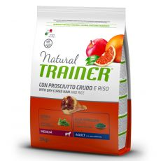TRAINER Natural Medium Adult sušená šunka 3 kg