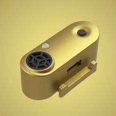TICKLESS MINI nabíjecí ultrazvukový repelent pro malé psy – zlatý