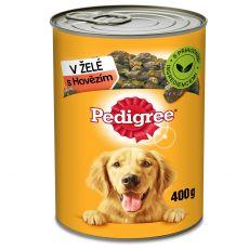 Pedigree konzerva s hovězím v želé 400 g