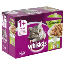 Whiskas kapsička Casserole mixovaný výběr v želé 12 x 85 g