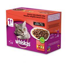 Whiskas kapsička Klasický výběr ve šťávě 12 x 100 g