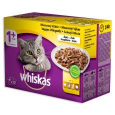 Whiskas kapsička drůbeží výběr v želé 12 x 100 g