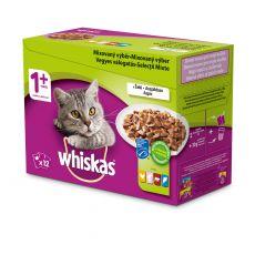 Whiskas kapsička Mixovaný výběr ve šťávě 12 x 100 g