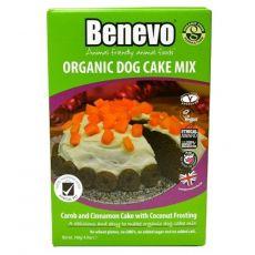 Benevo BIO karobovo-skořicový psí koláč 140 g