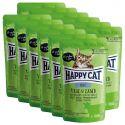 Kapsička Happy Cat ALL MEAT Adult Veal & Lamb 12 x 85 g