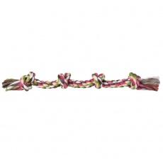 Hračka pro psy - bavlněný provaz s uzlem - 54 cm