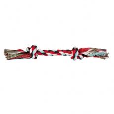 Hračka pro psa - bavlněný provaz s uzlem - 37 cm