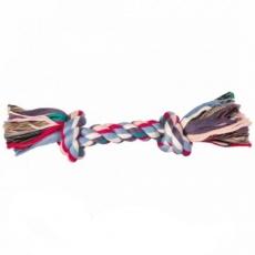 Hračka pro psa - bavlněný provaz s uzlem - 40 cm