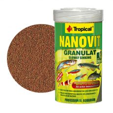TROPICAL Nanovit granulát 100 ml/70 g