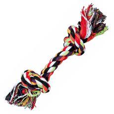 Hračka pro psy - bavlněný provaz s uzlem - 20 cm