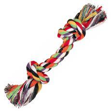 Hračka pro psy - bavlněný provaz s uzlem mini - 15 cm