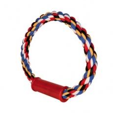 Bavlněný provaz ve tvaru kruhu pro psy - 30 cm