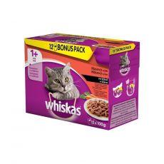 Whiskas kapsička Klasický výběr se zeleninou ve šťávě 12 x 100 g