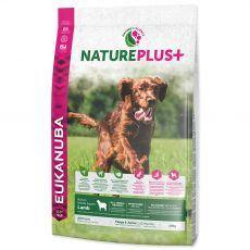 Eukanuba Nature Plus+ Puppy & Junior Rich in freshly frozen Lamb 10 kg