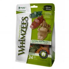 Whimzees dentální aligátor S 15 g/24 ks