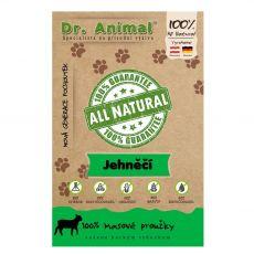 Dr.Animal 100% jehněčí masové proužky 80 g