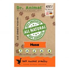 Dr.Animal 100 % husí masové proužky 80 g