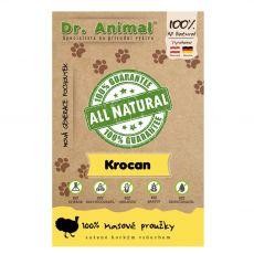 Dr.Animal 100 % krůtí masové proužky 80 g