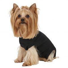 Pooperační oblečení pro psa XS černé