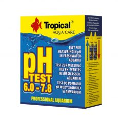 TROPICAL pH Test 6,0–7,8