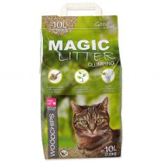 Podestýlka Magic Cat Litter Woodchips 10 l/4,3 kg