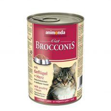 Animonda Cat BROCCONIS drůbež a srdce 400 g