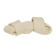 Kost pro psa zavázaná - bílá 110 g, 16cm