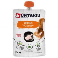 Ontario Cat chicken tasty meat paste 90 g